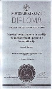 1-novosadski sajam diploma